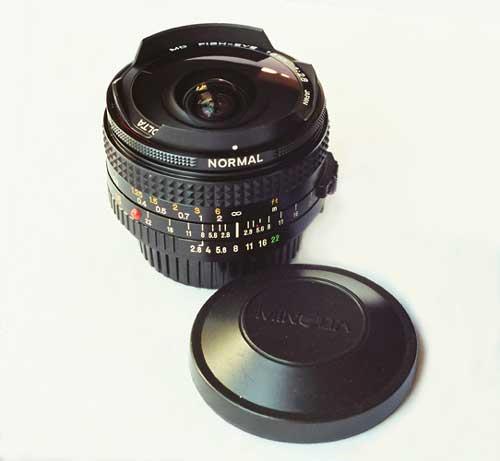 Minolta 16mm F/2.8 Fisheye Review